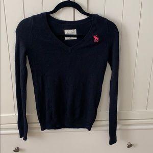 Girl's Abercrombie Kids Vneck Sweater